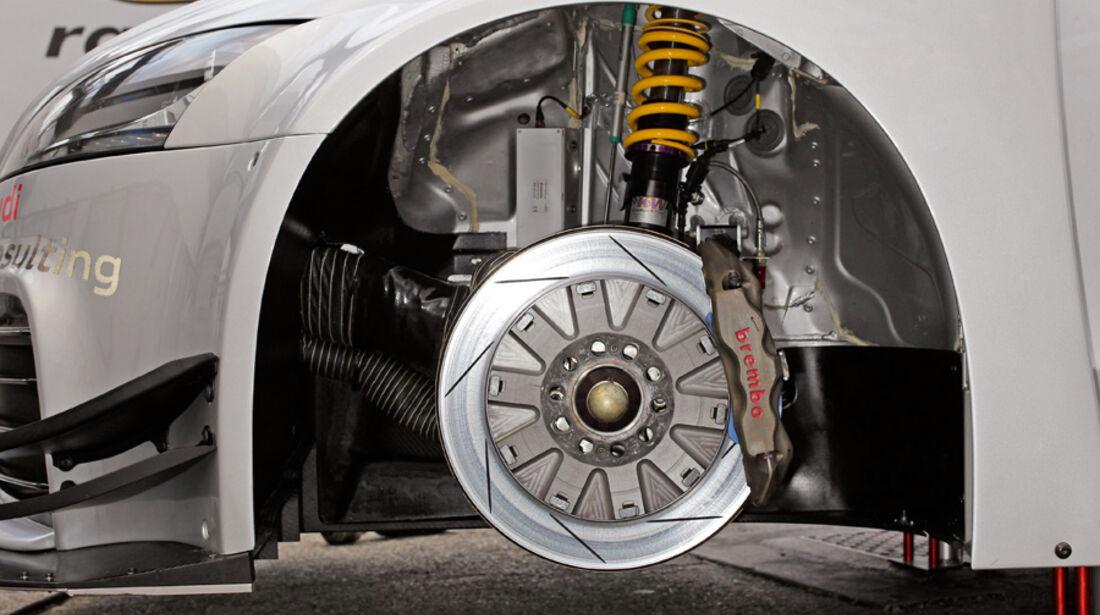 Audi TT RS, Bremsanlage