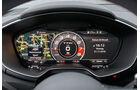 Audi TT RS Coupé, Anzeigeinstrumente