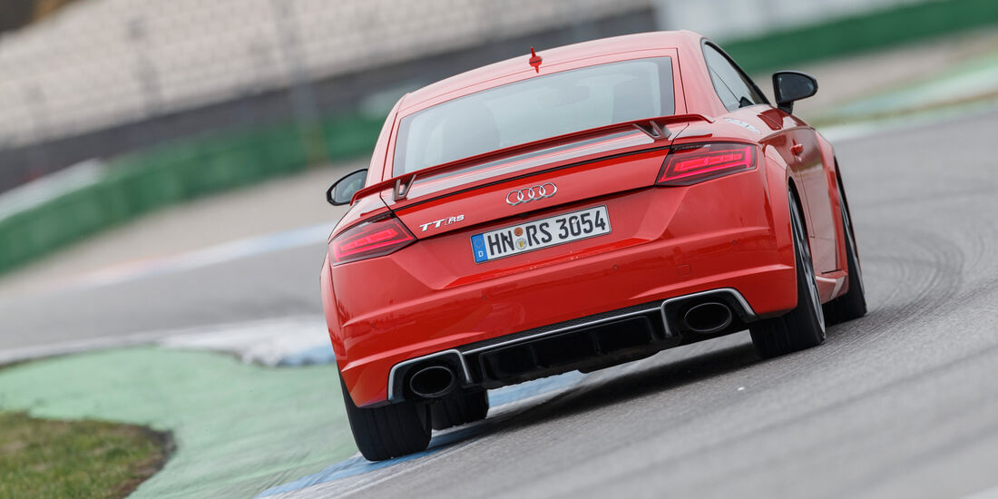Audi TT RS Coupé, Heckansicht