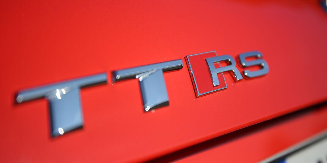 Audi TT RS Coupé, Typenbezeichnung