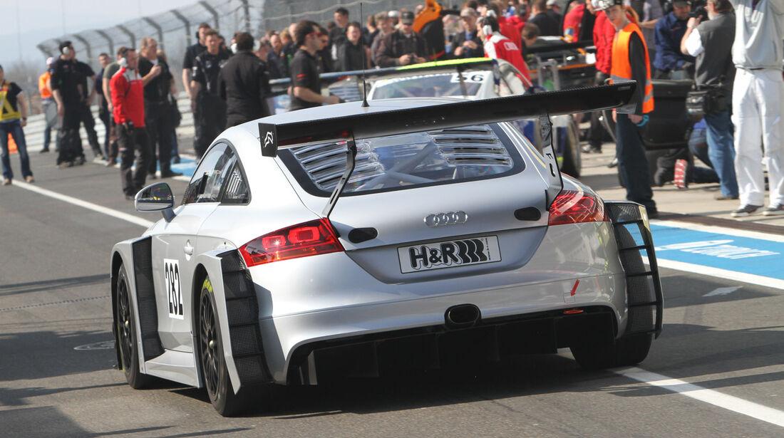 Audi TT RS FH Köln Motorsport VLN Langstreckenmeisterschaft Nürburgring 2012