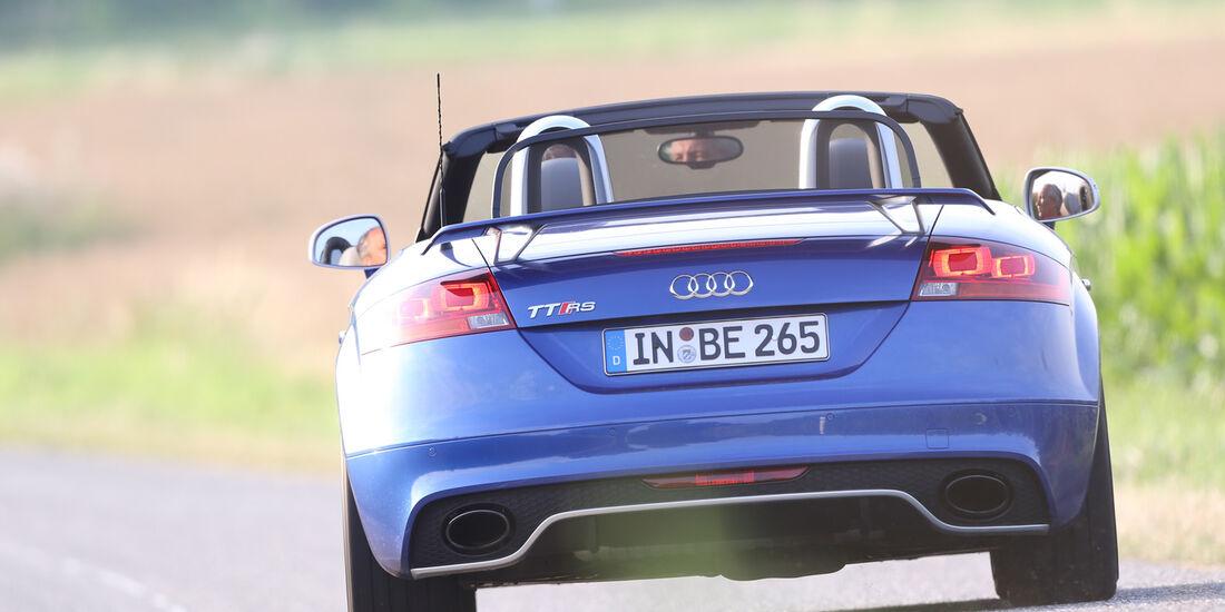 Audi TT RS, Heckansicht