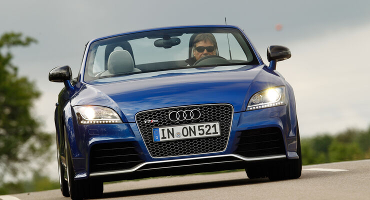 Audi TT RS Plus Roadster, Frontansicht