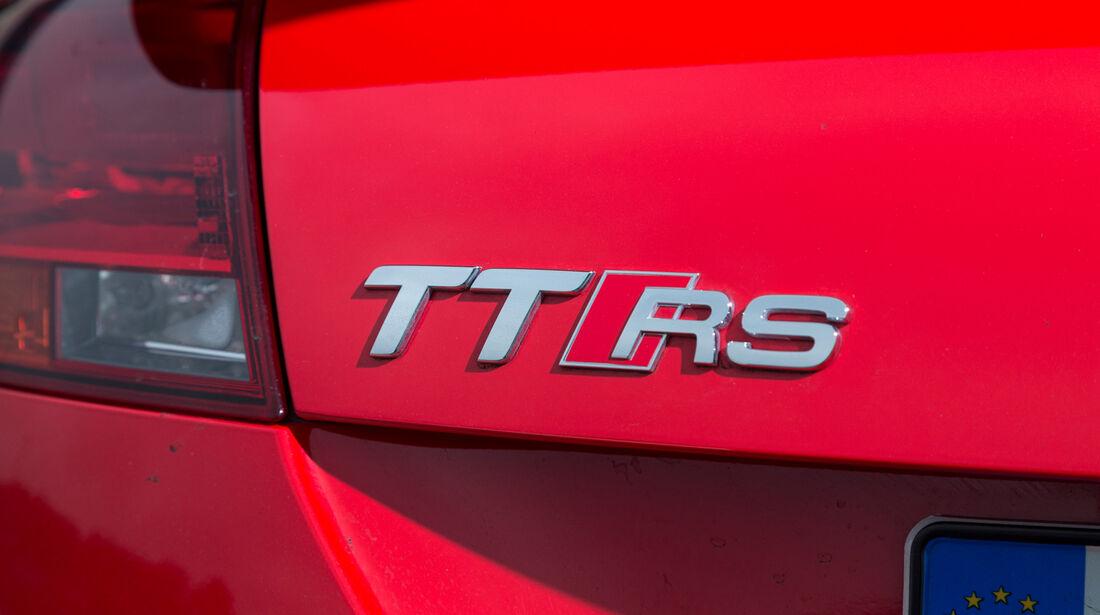 Audi TT RS Plus, Typenbezeichnung