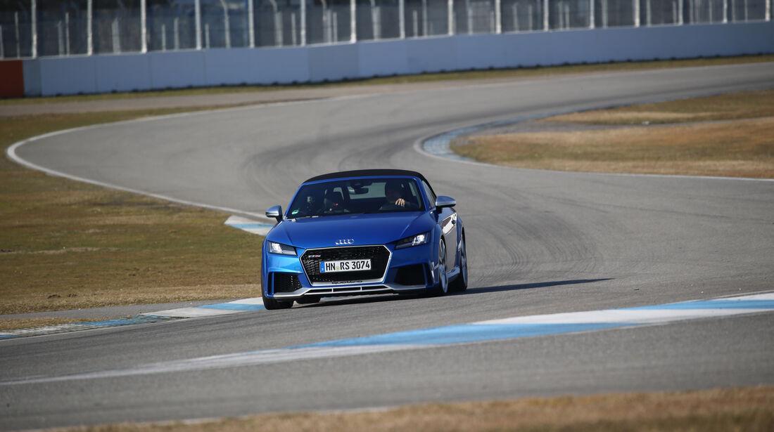 Audi TT RS Roadster, Frontansicht
