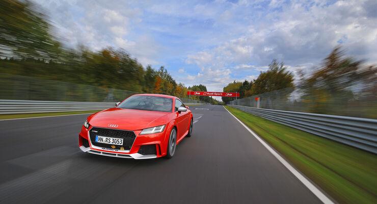 Audi TT RS - Sportcoupé - Supertest - Fünfzylinder - Nordschleife