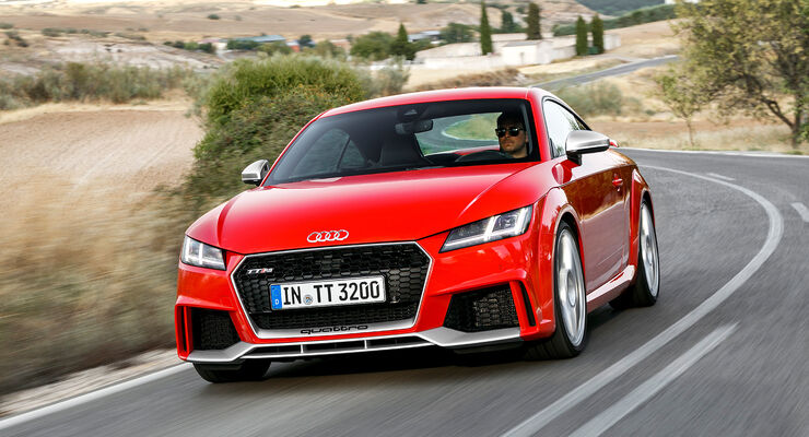 Audi Tt Rs Im Fahrbericht 2016 Auto Motor Und Sport