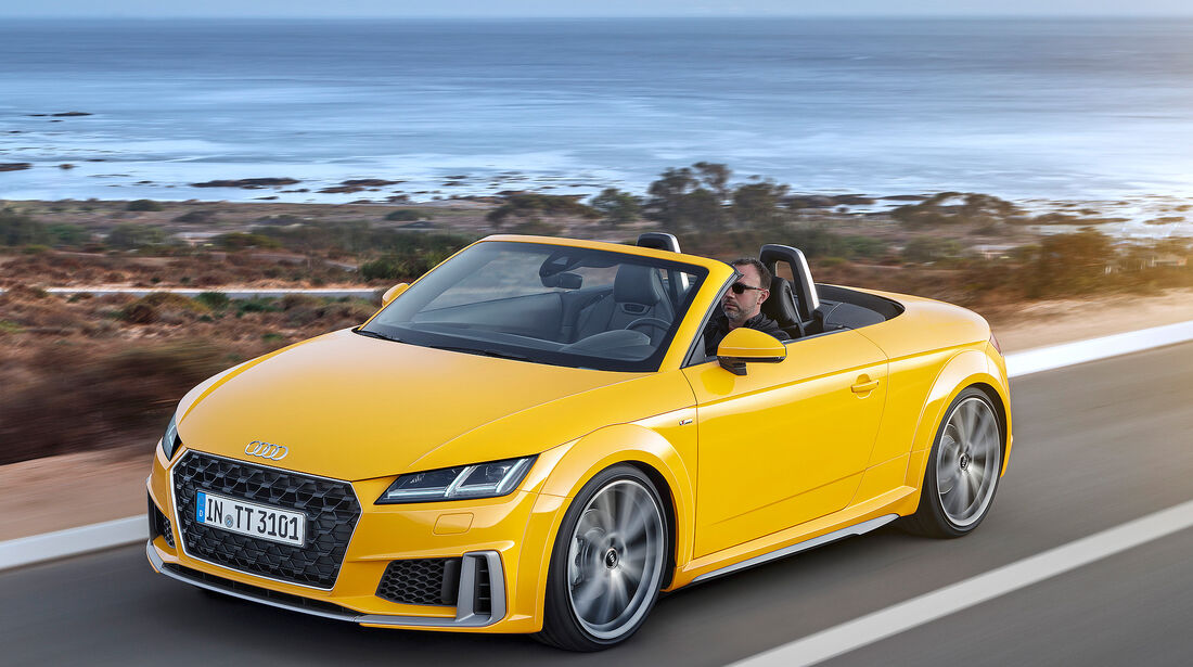 Audi TT Roadster 45 TFSI Quattro - Serie - Cabrios bis 50000 Euro - sport auto Award 2019