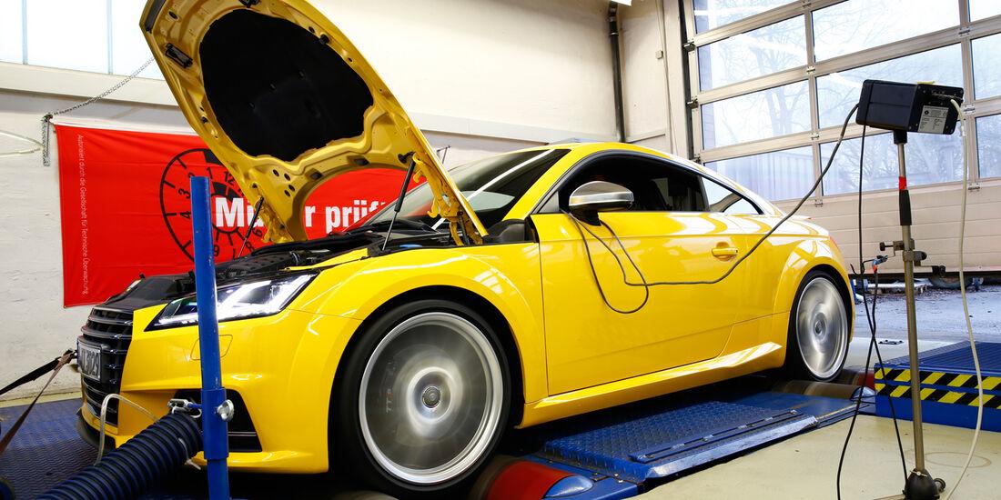 Audi TTS Coupé, Leistungsmessung