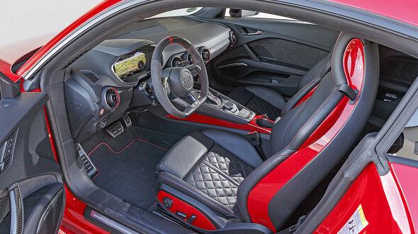 Audi TTS, FV Facelift, Interieur