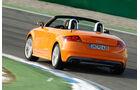 Audi TTS Roadster, Heckansicht