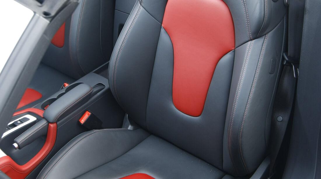 Audi TTS Roadster Sitz