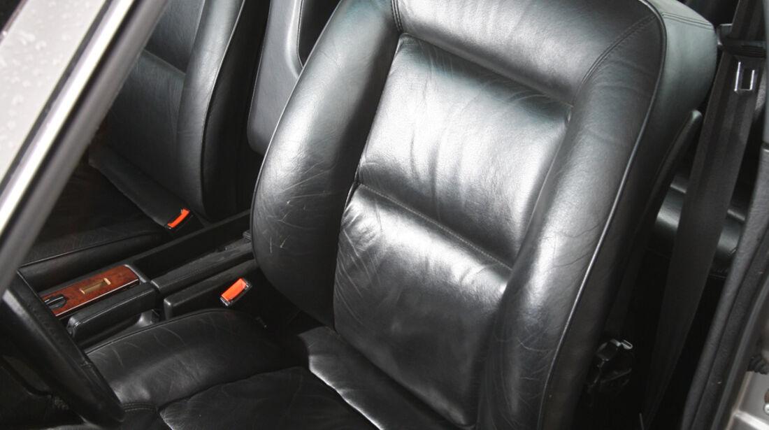 Audi V8, Ledersitz, Fahrersitz