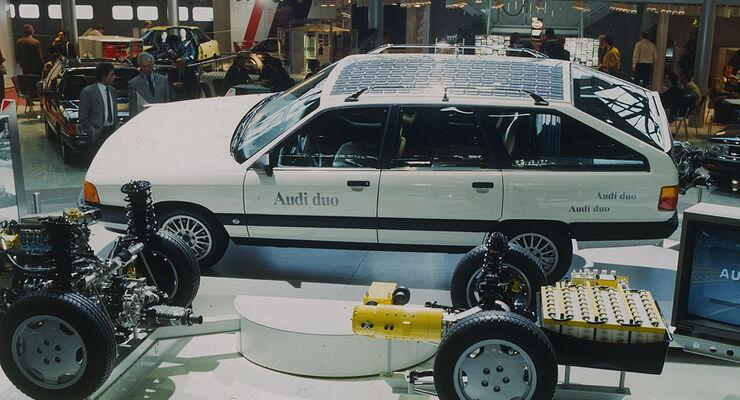 Audi 100 Avant Duo von 1989: Youngtimer als Pionier der ...