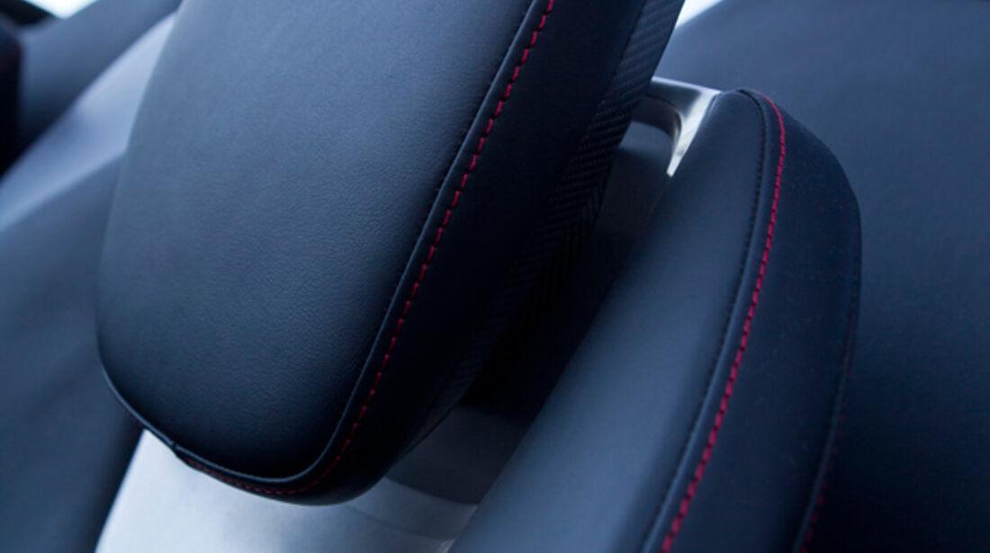 Audi e-tron Spyder, Kopfstütze