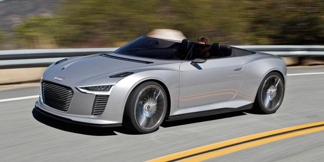 Audi e-tron Spyder, Seite