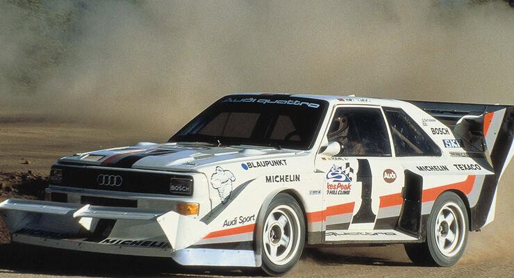 Audi quattro Pikes Peak 1987