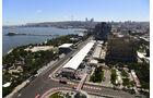Aufbau - Formel 1 - GP Aserbaidschan - Baku - 14. Juni 2016