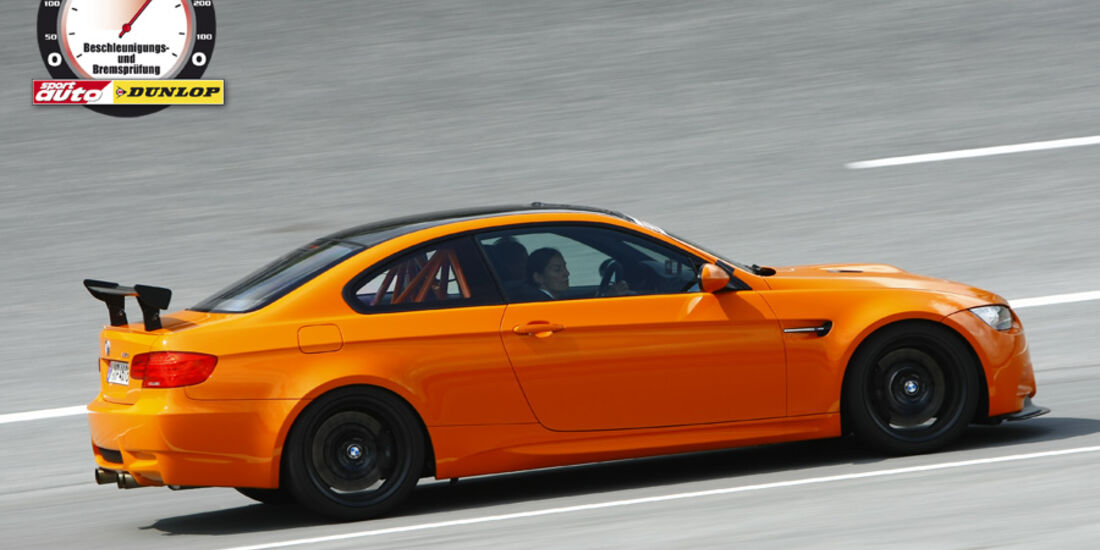 Aufmacher 0-300-0 2010, BMW M3 GTS