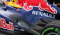 Auspuff Red Bull GP Australien 2012