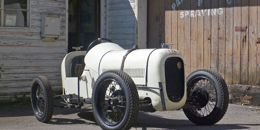 "Austin  Seven ""White Rabbit"" Racing"