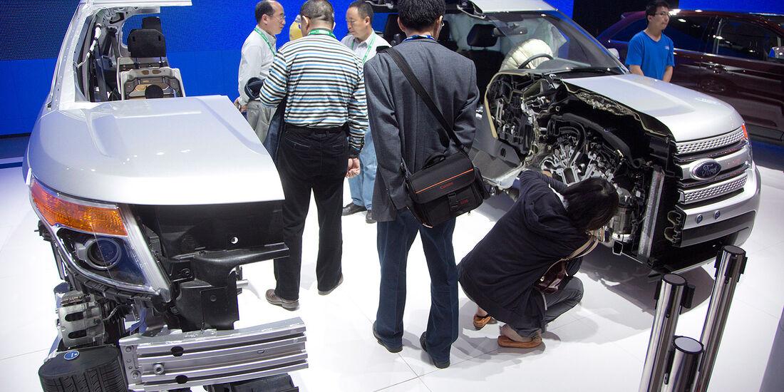 Auto China 2012 Impressionen