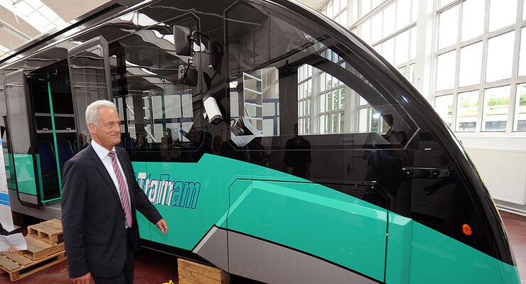 AutoTram des Fraunhofer-Instituts, Ramsauer