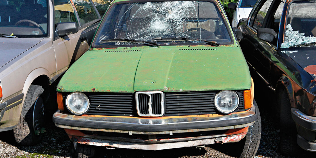 Autofriedhof Rust, BMW 318