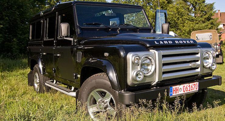 Automatik-Umbau f�r den Land Rover Defender Td4