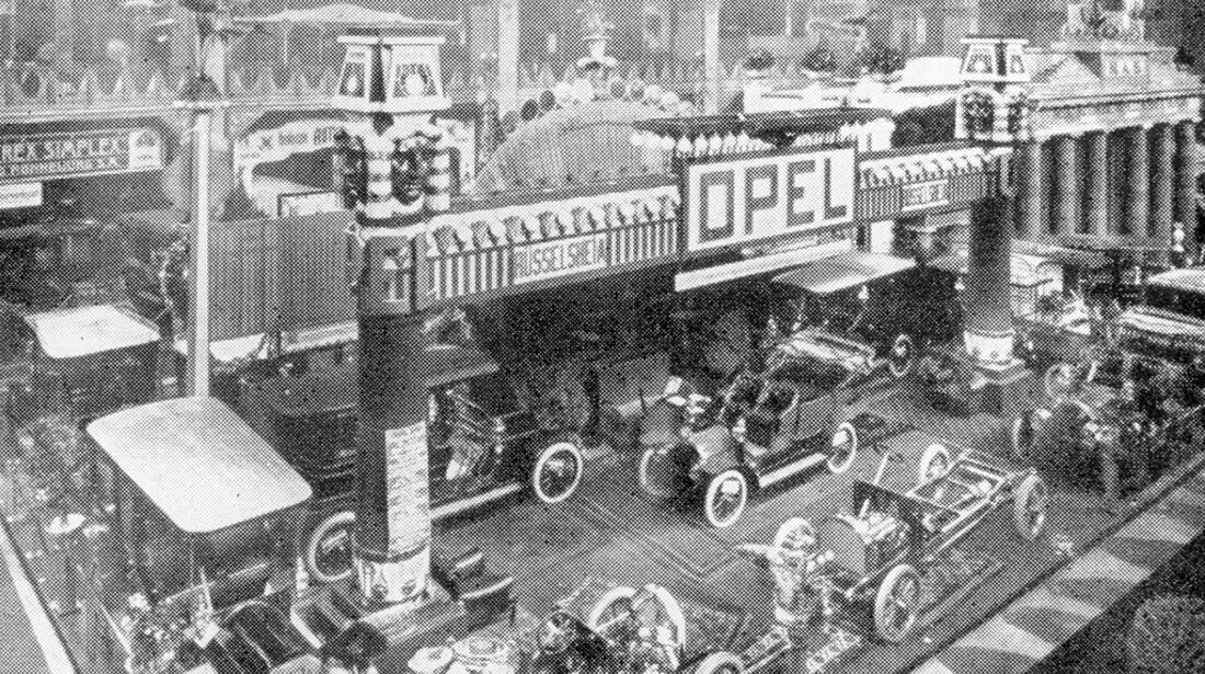 Automobilausstellung in Berlin 1906