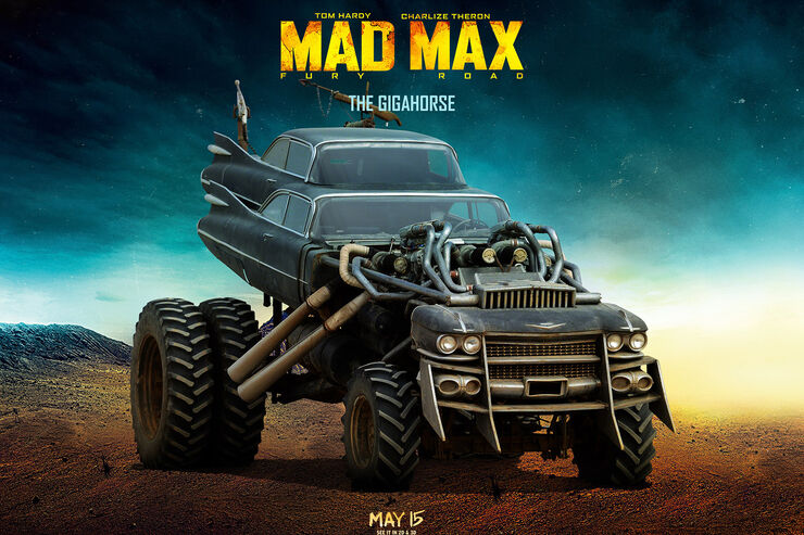 Autos aus Mad Max: Fury Road (2015)