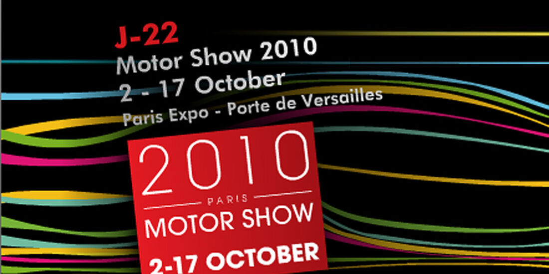 Autosalon Paris 2010 Mondial de l'Automobile Paris Logo