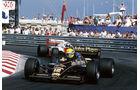 Ayrton Senna - Lotus-Renault 98T Turbo - GP Monaco 1986