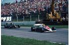 Ayrton Senna - Toleman TG184 - Elio de Angelis - Lotus 95T - GP Österreich 1984
