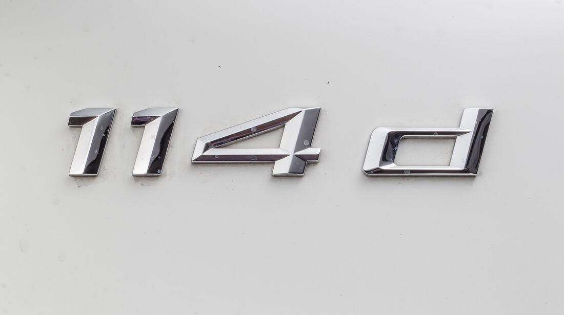 BMW 114d, Typenbezeichnung