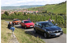 BMW 114i, BMW 316i, BMW 2002, Frontansicht