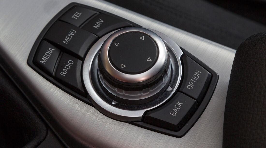BMW 116d, Bedienelement