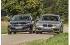 BMW 116d EDE, Peugeot 308 Blue HDi, Frontansicht