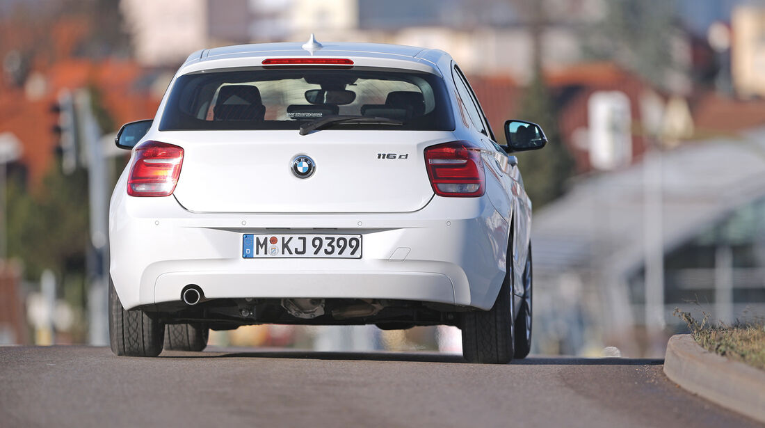 BMW 116d Efficient Dynamics Edition, Heckansicht