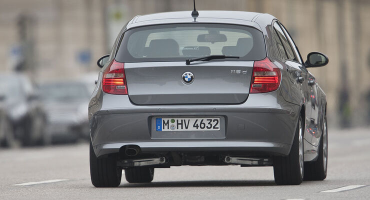 bmw 116d mit 115 ps der sparsamste bmw im test auto. Black Bedroom Furniture Sets. Home Design Ideas