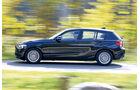 BMW 116i, Seitenansicht