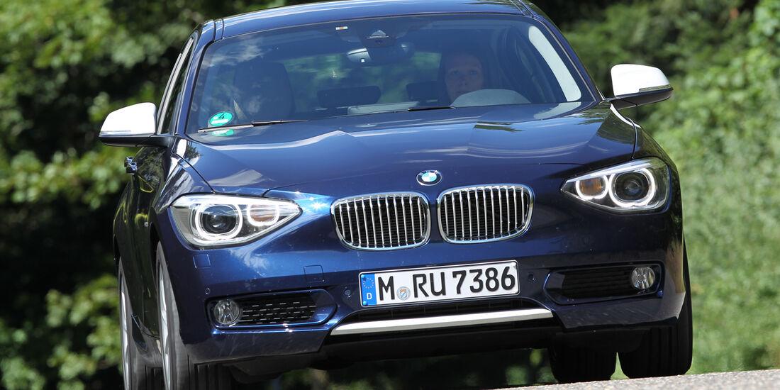 BMW 118d, Frontansicht