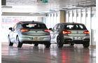 BMW 118d, Opel Astra 1.6 Biturbo CDTI, Heckansicht