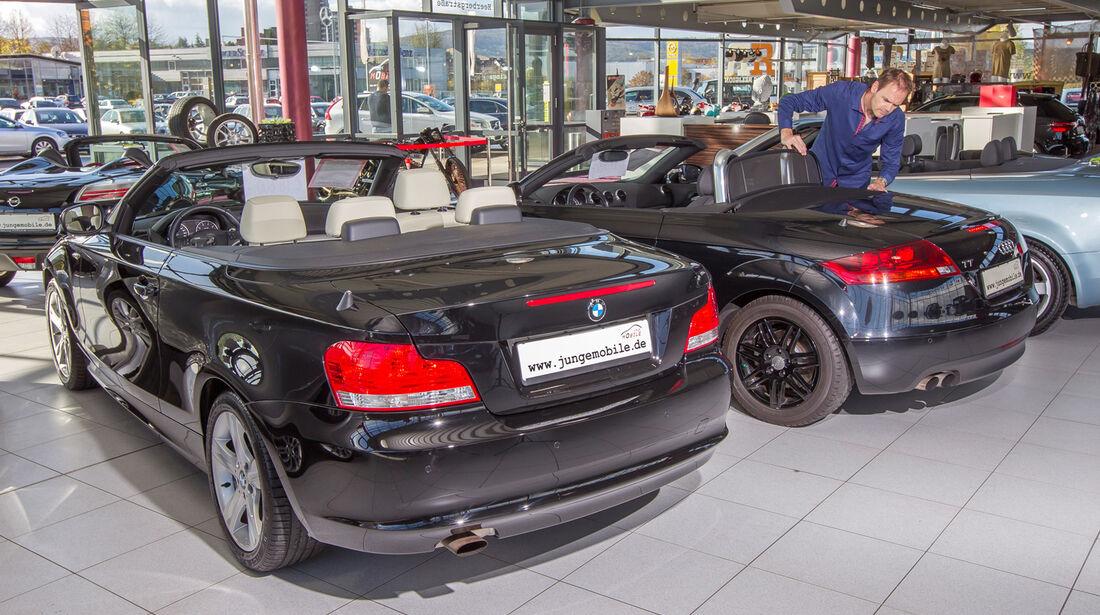 BMW 118i Cabrio, Heckansicht