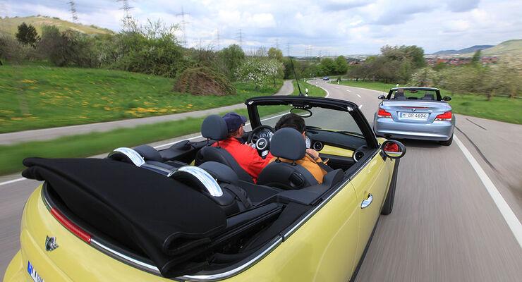 BMW 118i Cabrio, Mini Cooper S Cabrio