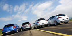 BMW 120d, Opel Astra GTC Biturbo CDTI, Seat Leon FR 2.0 TDI, VW Golf GTD