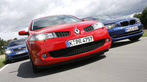 BMW 120d, Renault Mégane Sport 2.0 dCi, Skoda Octavia RS 2.0 TDI