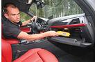 BMW 120d Sport Line, Handschuhfach, Innenraum