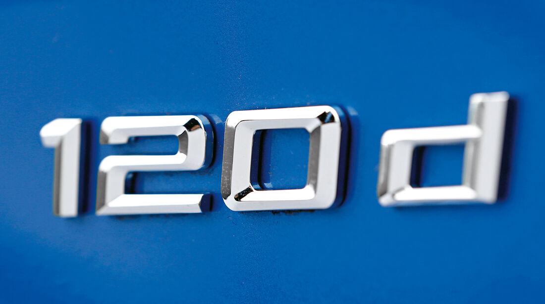 BMW 120d, Typenbezeichnung