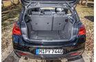 BMW 120i, Kofferraum